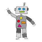 Robots klicken Banner