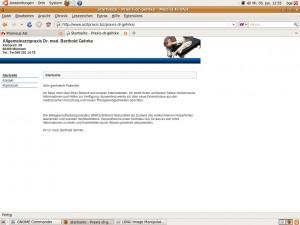 Homepage Dr. Gehrke